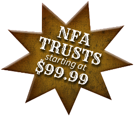 NFA trusts starting at $99.99!